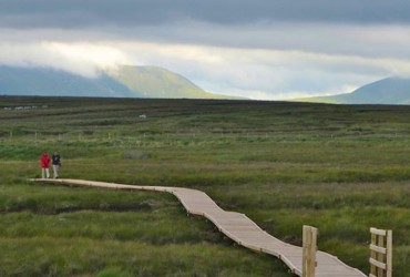 Nephin Wilderness Park and Ballycroy National Park - boardwalk