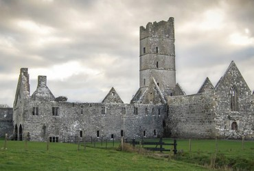 Moyne Abbey Killala Co. Mayo Monasteries of the Moy
