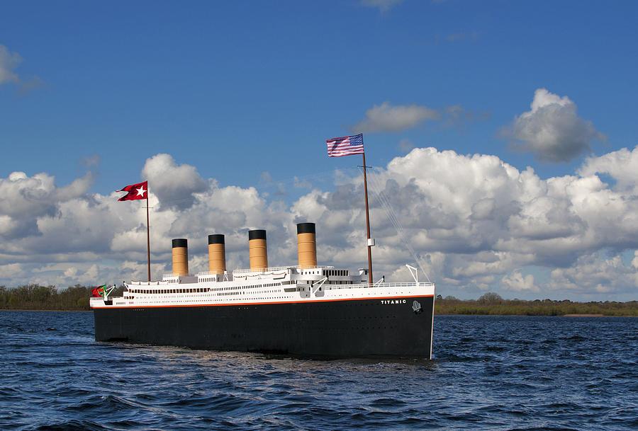 Titanic on Lough Conn by John Boyce - Lahardane Co. Mayo Ireland