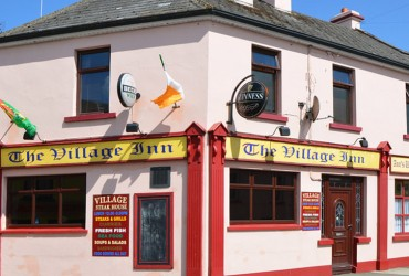 The Village Inn Killala sports pub local food bar food