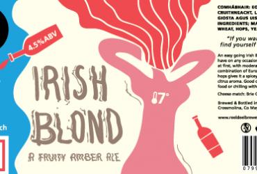 Reel Deel Brewery Crossmolina Reel Deel Beer Mayo Irish Blond Jack the Lad