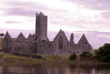 Rosserk Abbey or Rosserk Friary, Killala, Mayo, Ireland