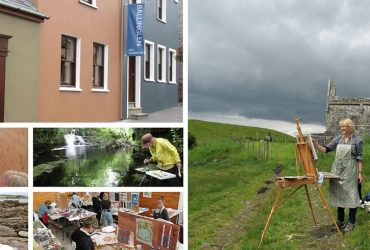 Ballinglen Arts Foundation artists residency Ballycastle Mayo
