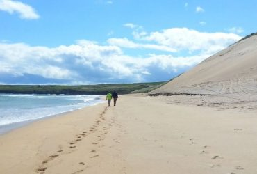 Kilcummin strand beaches in Mayo