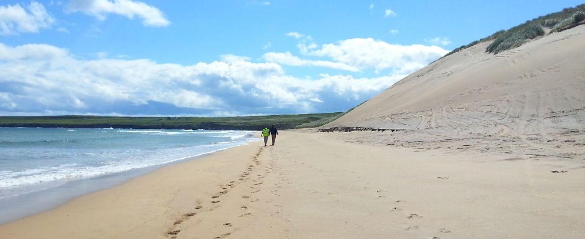 Kilcummin strand beaches in Mayo