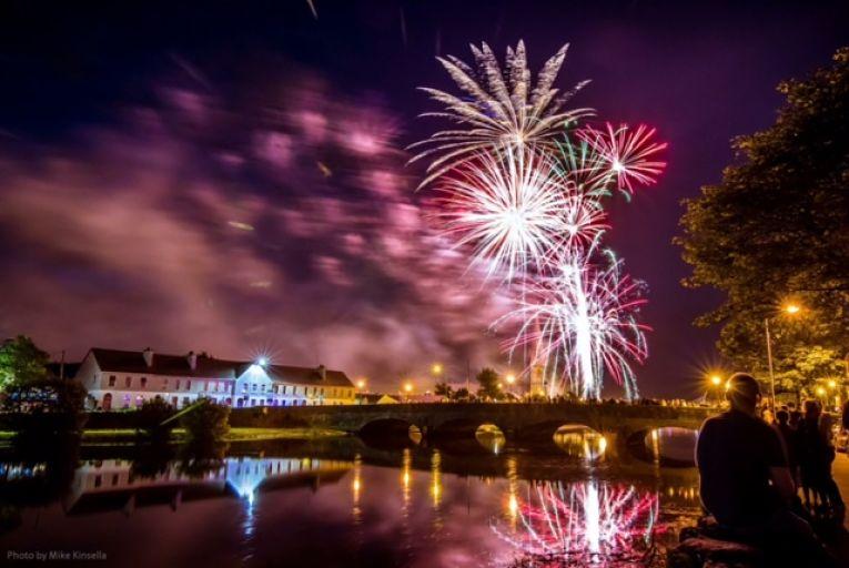 Ballina Salmon Festival Fireworks Display 2017