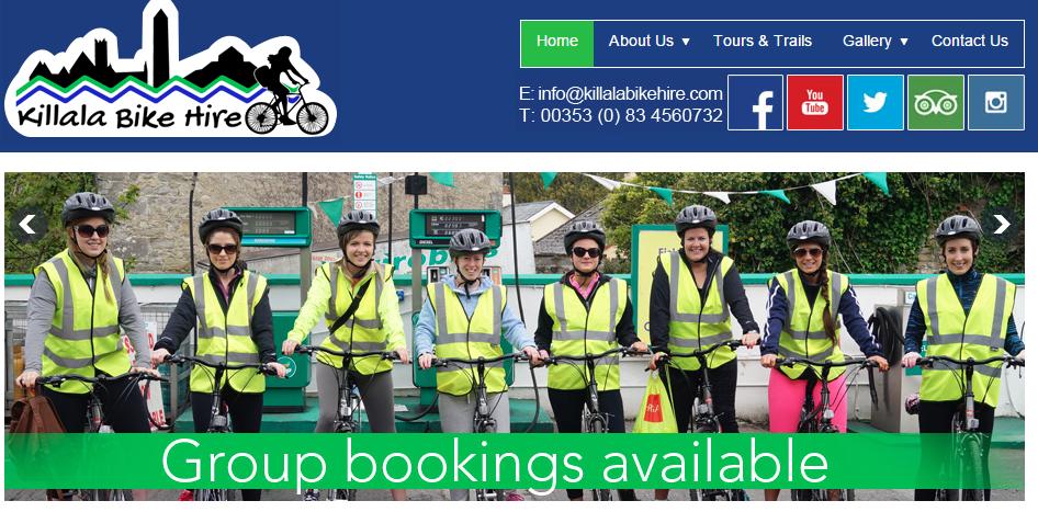 bike hire in Mayo
