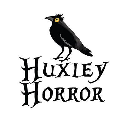 huxley horror logo halloween festival ballina