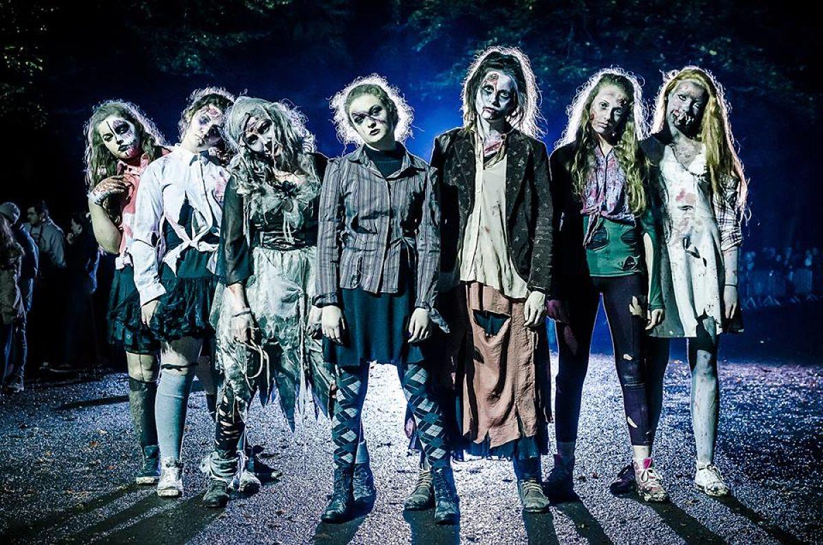 Samhainn Abhainn Scary Woods Walk Halloween Festival Ballina