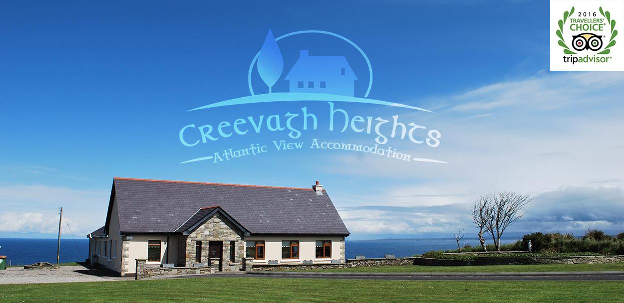 Creevagh Heights B&B in Carrowmore Lacken, near Killala, Co. Mayo, Ireland