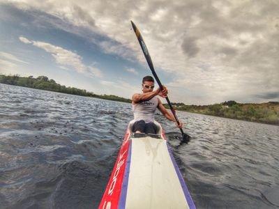 David Horkan Kayaking in Mayo Paddle and pedal