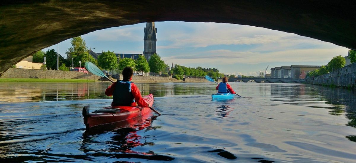 Kayaking in Mayo North with Paddle and Pedal on the River Moy Ballina