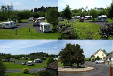 camping in ballina belleek park caravan and camping
