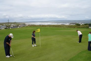 Twelve ways to enjoy the Great Outdoors in Mayo North, Pitch and Putt Enniscrone