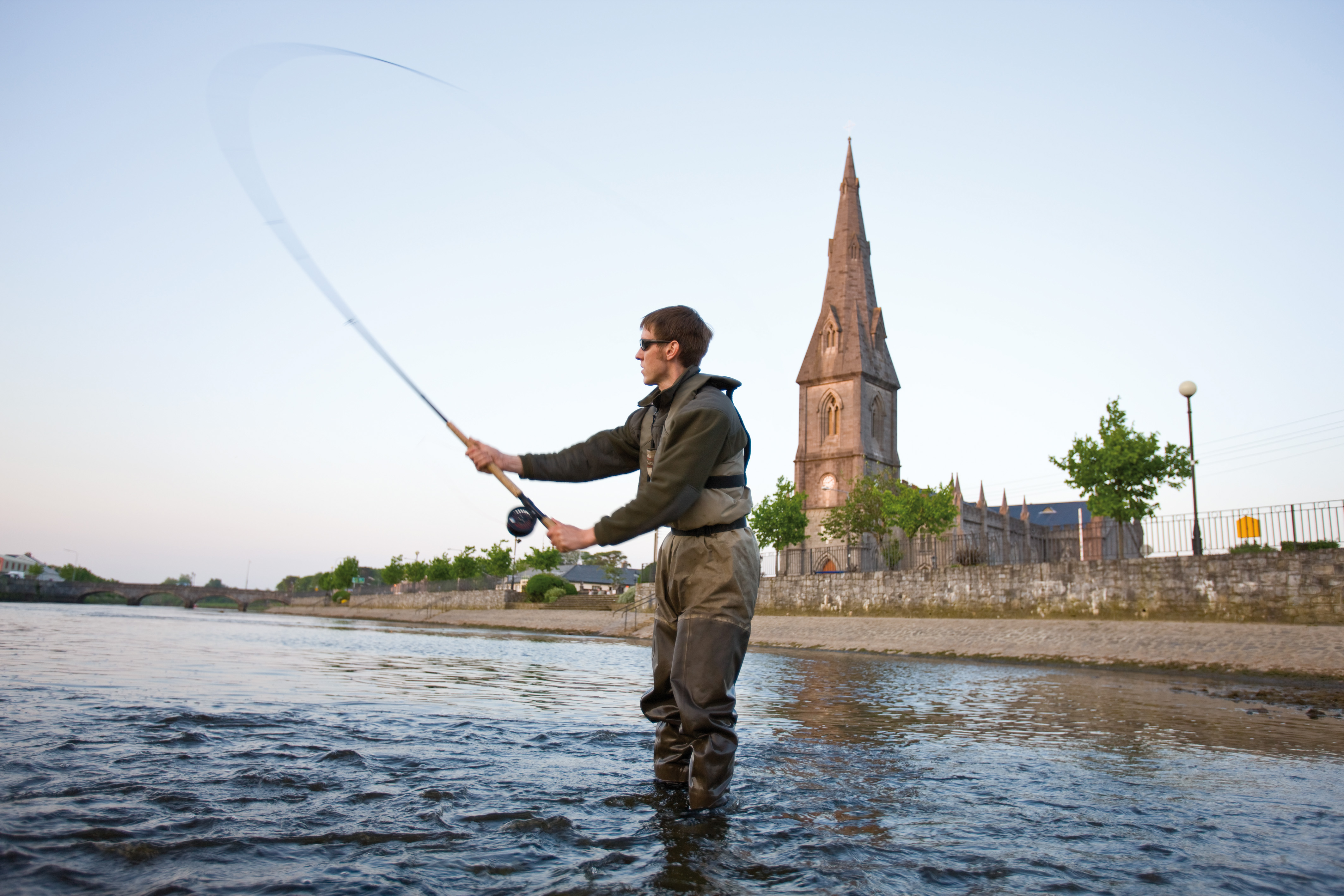 Angling and fishing in Mayo and Ballina salmon brown trout sea trout