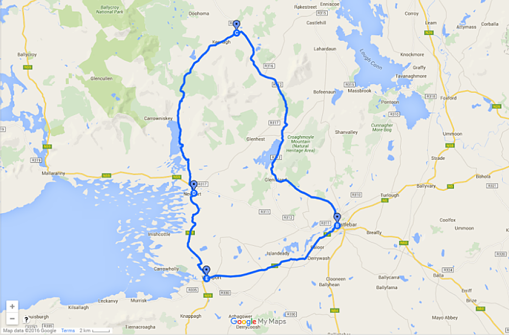 Nephin Drive map