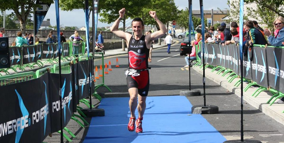 Ballina Triathlon Salmon Run Triathlon athlete