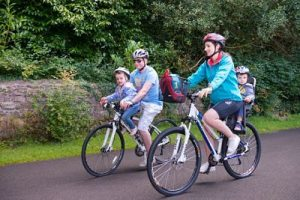things to do with children in mayo north cycling children in carriers