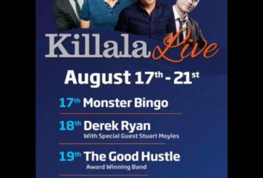 Killala Live Festival line-up