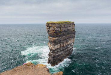 Dun Briste sea stack at Downpatrick Head