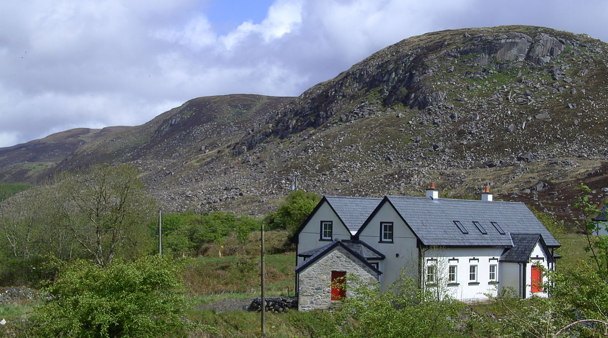 Rooskey country house and cottages accommodation in Attymass Mayo