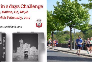 3 Marathons in 2 Days Challenge Belleek Ballina