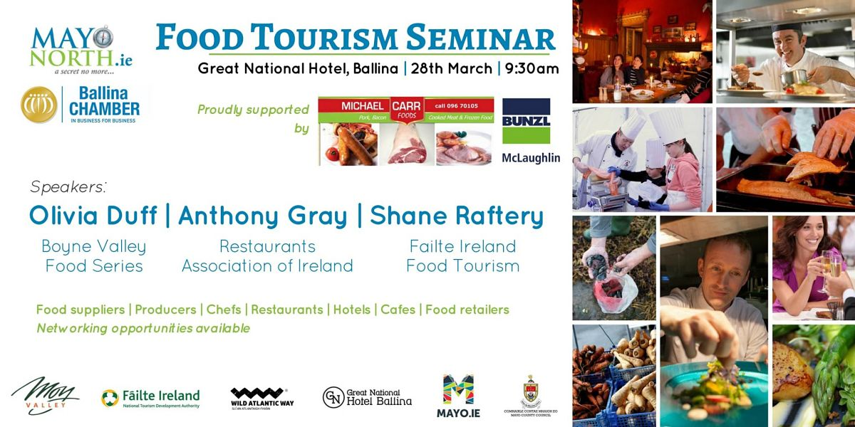 Mayo North Food Tourism Seminar