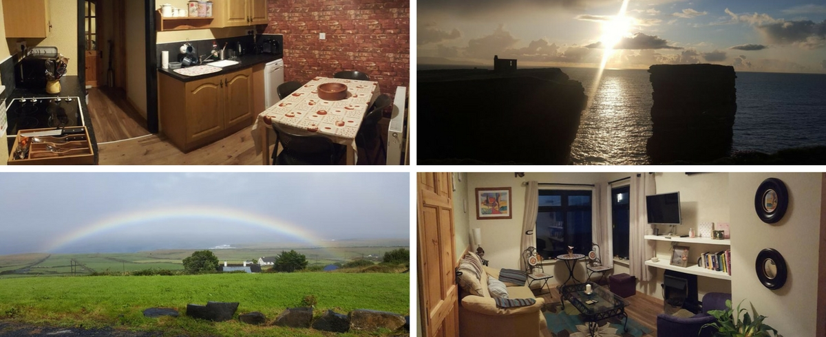 Seastack view self-catering Ballycastle Mayo Wild Atlantic Way