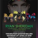 Ryan Sheridan plays Mayo Day in the Military Quarter – 29th April