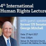 Mary Robinson Centre International Human Rights Lecture – 27th April