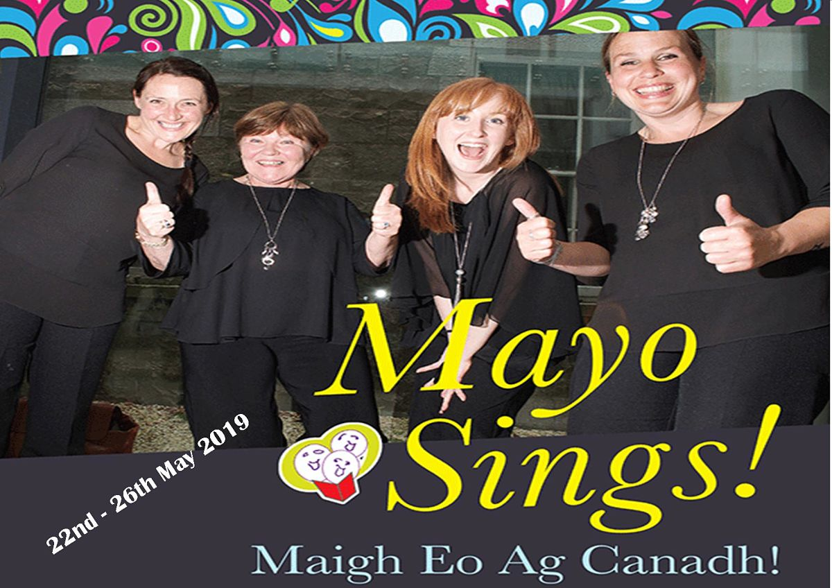 The sixth Mayo International Choral Festival takes place in May