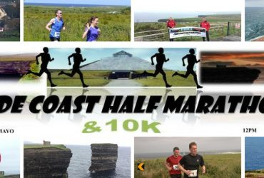 Céide Coast Half marathon and 10k Coastal Challenge