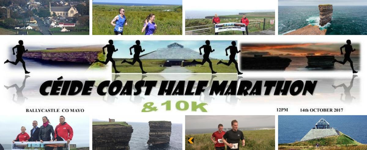 Céide Coast Half marathon and 10k Coastal Challenge