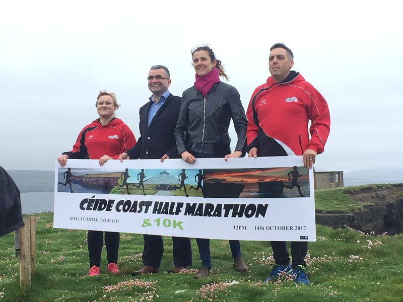 Ceide Coast Half Marathon and 10k Coastal Challenge Ballycastle Co. Mayo