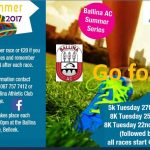 Ballina Athletic Club Summer Series 2017