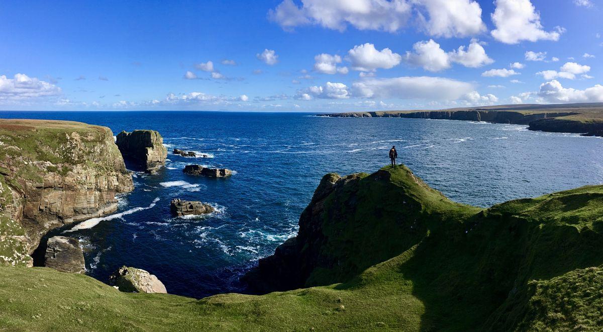 Belderrig cliff views Co. Mayo Ireland