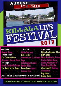 Killala Live Festival, Killala Live Music Festival