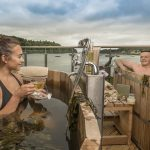 Soak away your cares in the Ice House's brand new outdoor seaweed baths