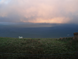 Changeable Weather in North Mayo talk Ceide Fields Visitor Centre OPW National Heritage Week 2017 National Heritage Week in Mayo North