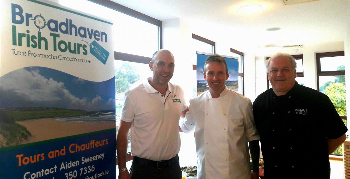 Broadhaven tours guided tours of Mayo Aiden Sweeney