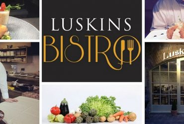 Luskin's Bistro Ballina website header