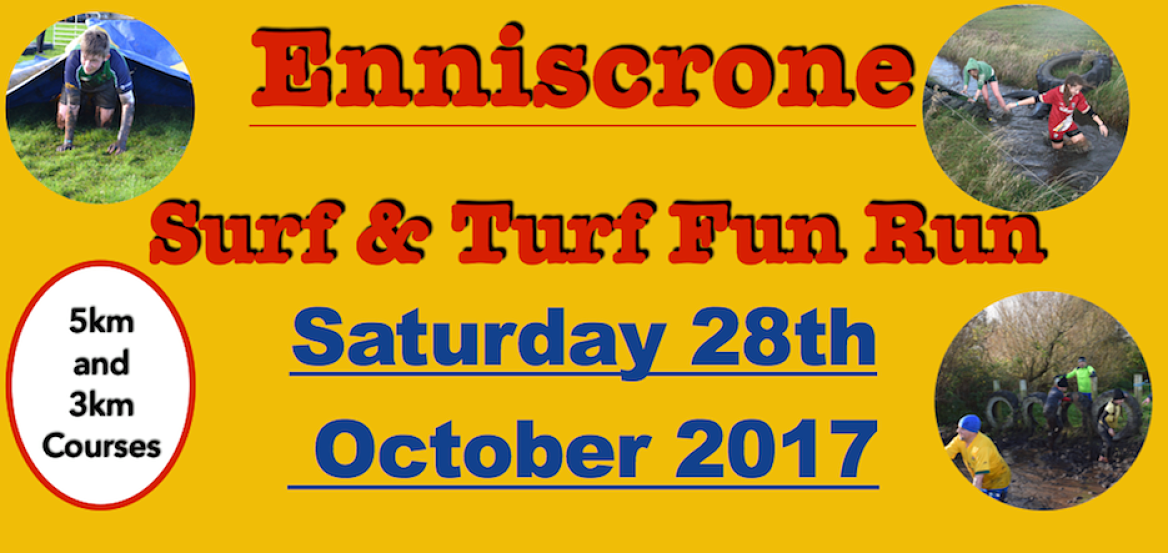 Enniscrone Surf and Turf 2017 Run October Bank Holiday weekend 2017 Things to do in Enniscrone Things to do in North West Sligo Things to do in Mayo North