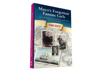 Terry Reilly book launch Mayo's forgotten famine girls
