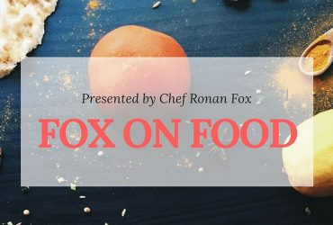 Fox on Food - Ronan Fox chef new series on Ballina Community Radio 2