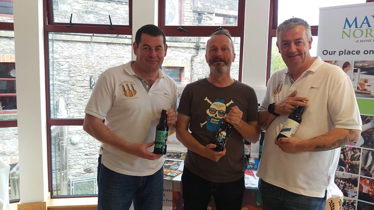 Frosty Brew Fest 2017 Ballina Yeast Meets West Frosty Salmon Festival 2017 Mistletoe Market Ballina Information about Craft Beer in Ballina Where to try craft beer in Ballina Co Mayo Achill Brewery Mayo Reel Deel Brewery Mayo Lough Gill Brewery Black Donkey Brewery Microbrewing in Mayo microbreweries in Connacht