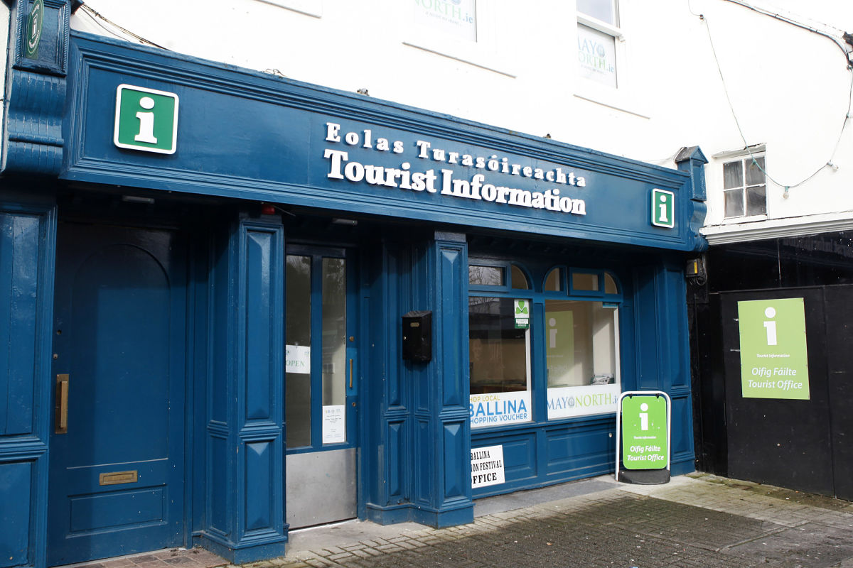 Ballina Tourist Office, Ballina Salmon Festival Office, Mayo North Office Pearse Street Ballina