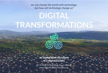 Digital Transformations Conference Ballina Mayo May 2018