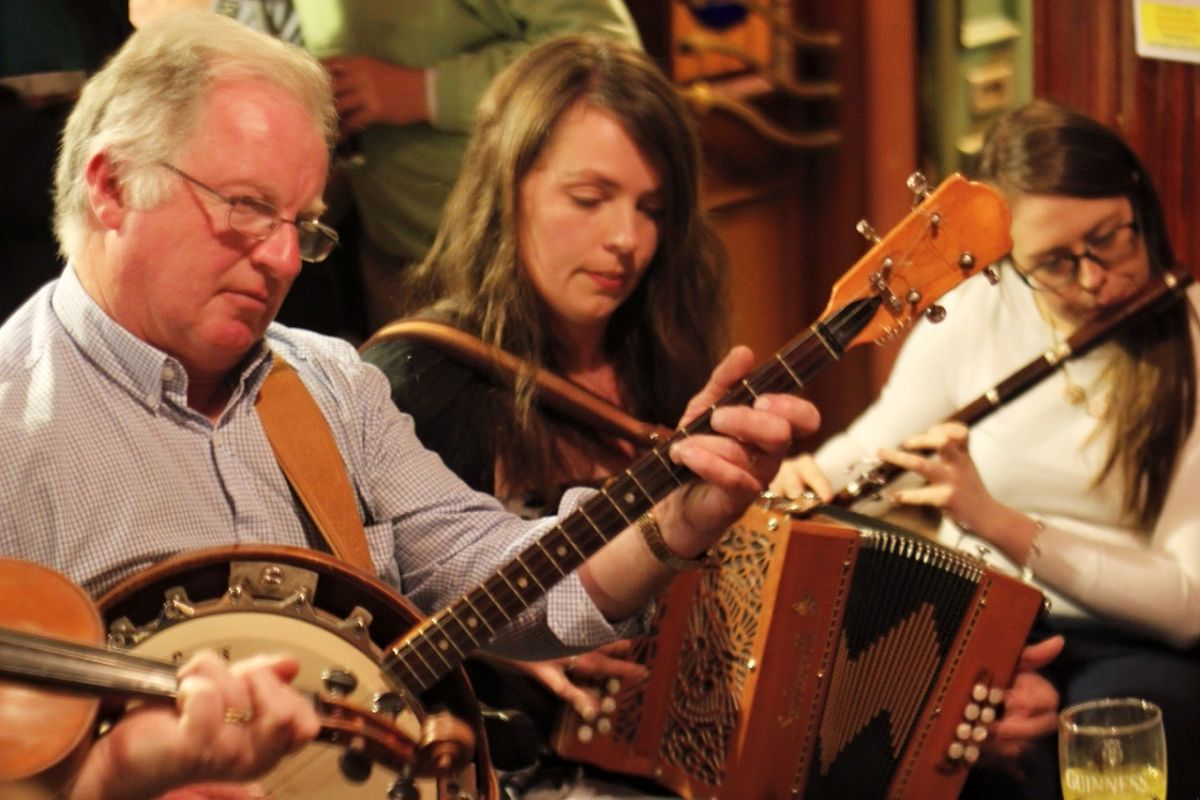 Trad sessions in Ballina at Rouse's Bar