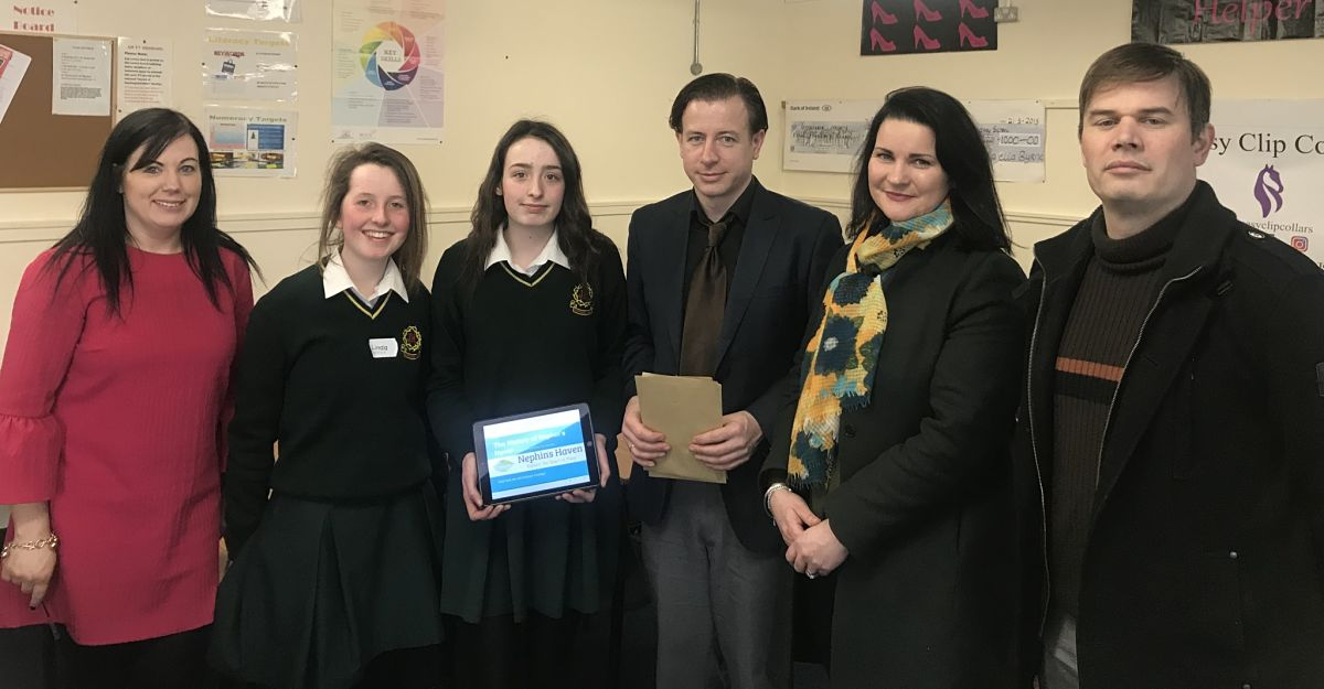 Nephin's Haven TY competition Gortnor Abbey
