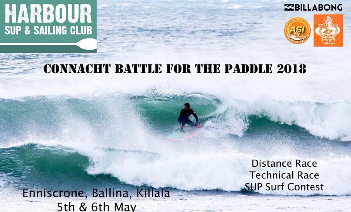 Harbour Sup and Sail Connacht Battle for the Paddle